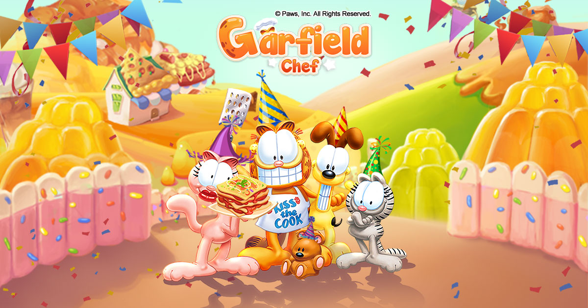 Garfield Chef